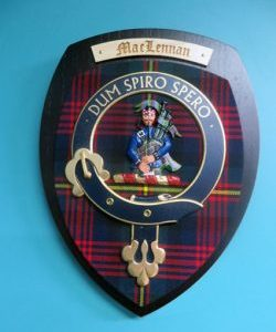 Kilt Accessories and Clan Crests
