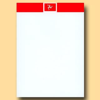 Isle of Man flag pad
